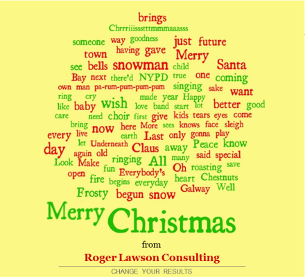 Roger Lawson Consulting Christmas Card