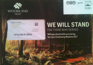 Woodland Trust making it local to me